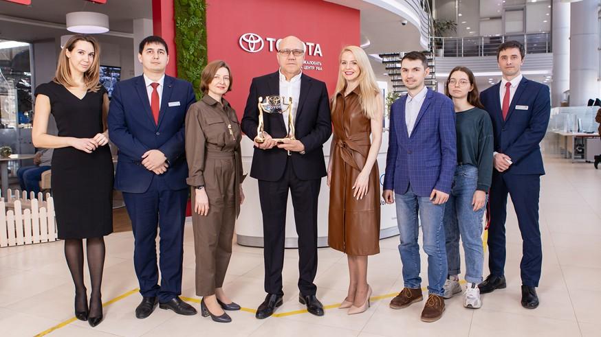 Признание заслуг лучших: официальные дилеры Toyota и Lexus получили награды
