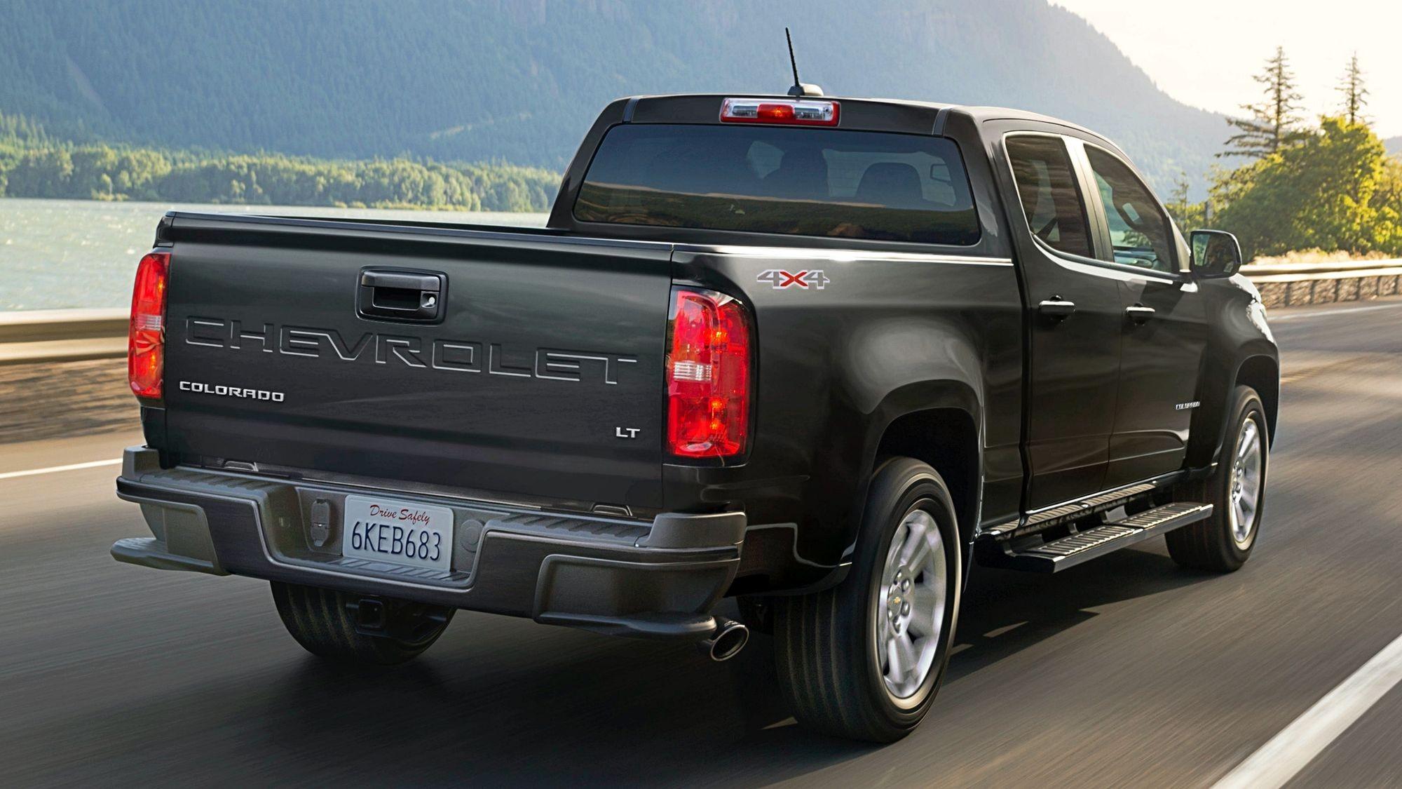 Теряющий популярность Chevrolet Colorado обновился и подорожал