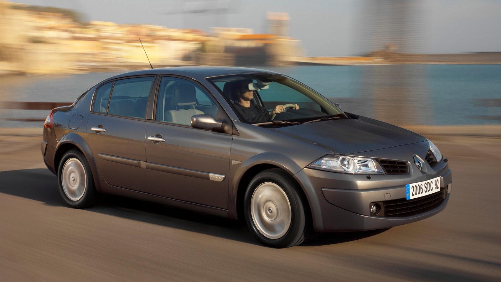 На фото: Renault Megane Classic '2006–09