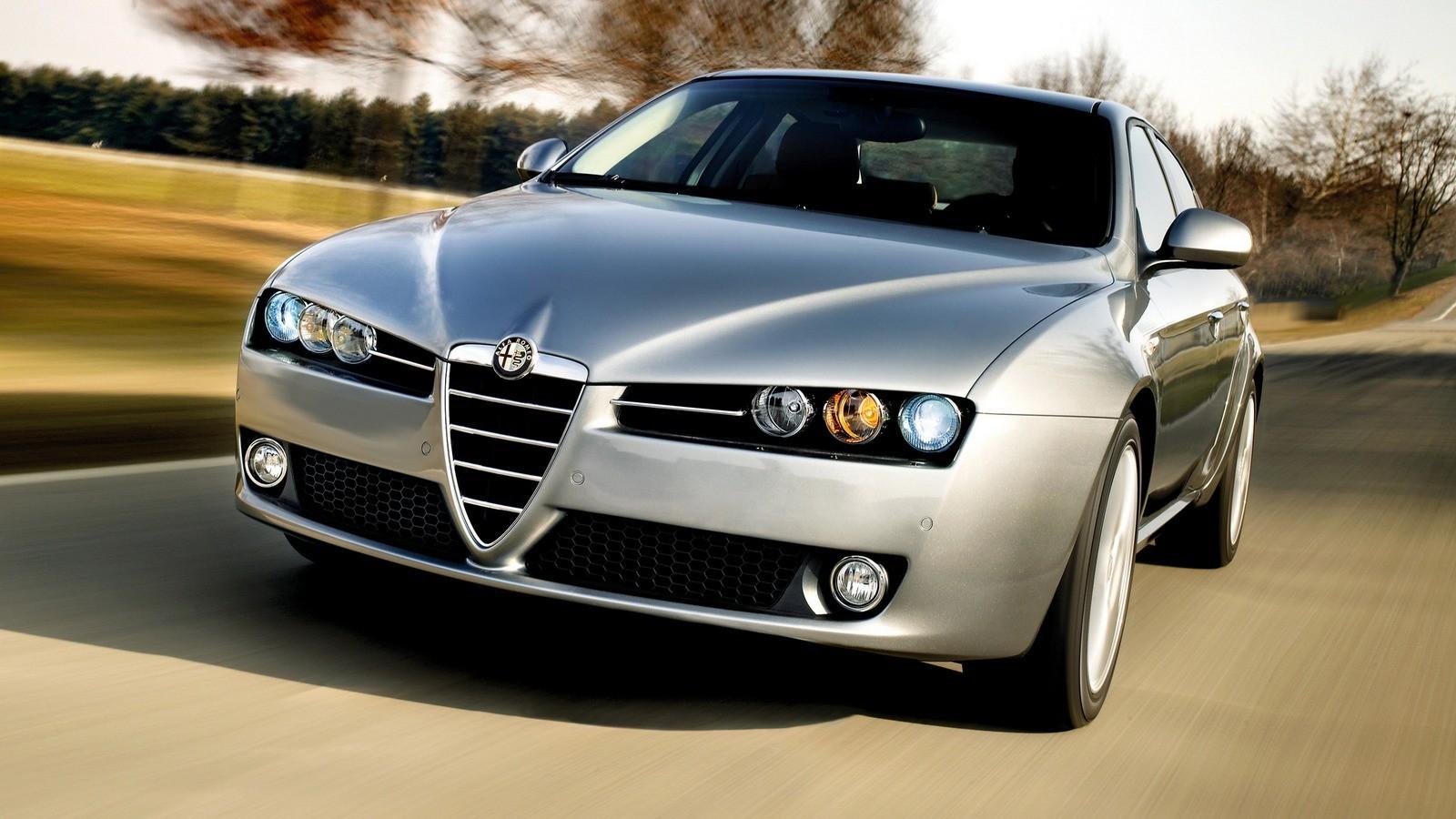 На фото: Alfa Romeo 159 '2005–08
