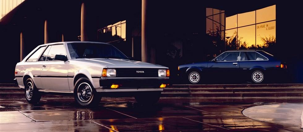 corolla; 2 cars