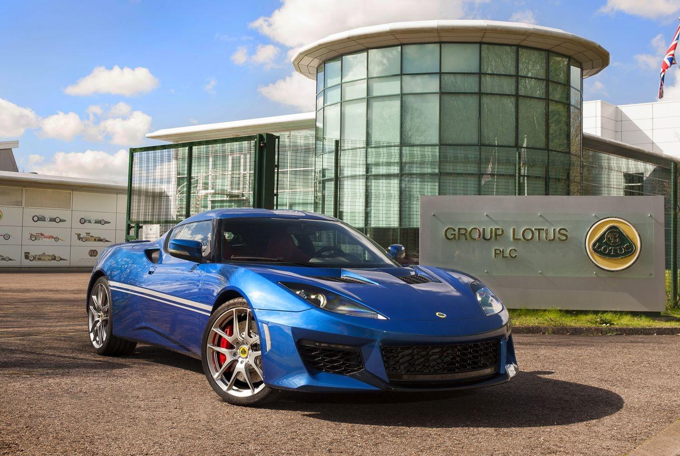 Lotus Evora, самая молодая на данный момент модель британской марки, дебютировала в 2008 году.