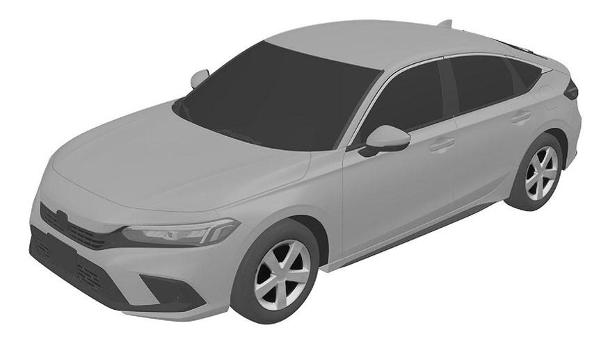 Honda Civic одиннадцатого поколения: первые изображения «пятидверки»