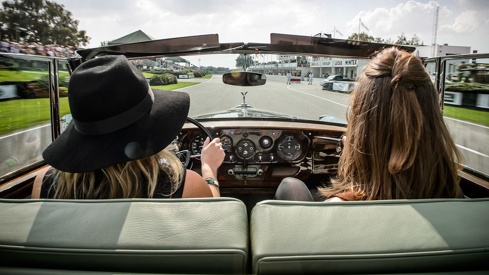 Rolls-Royce at Goodwood Revival 2014 Photograph: James Lipman +44 7803 885275