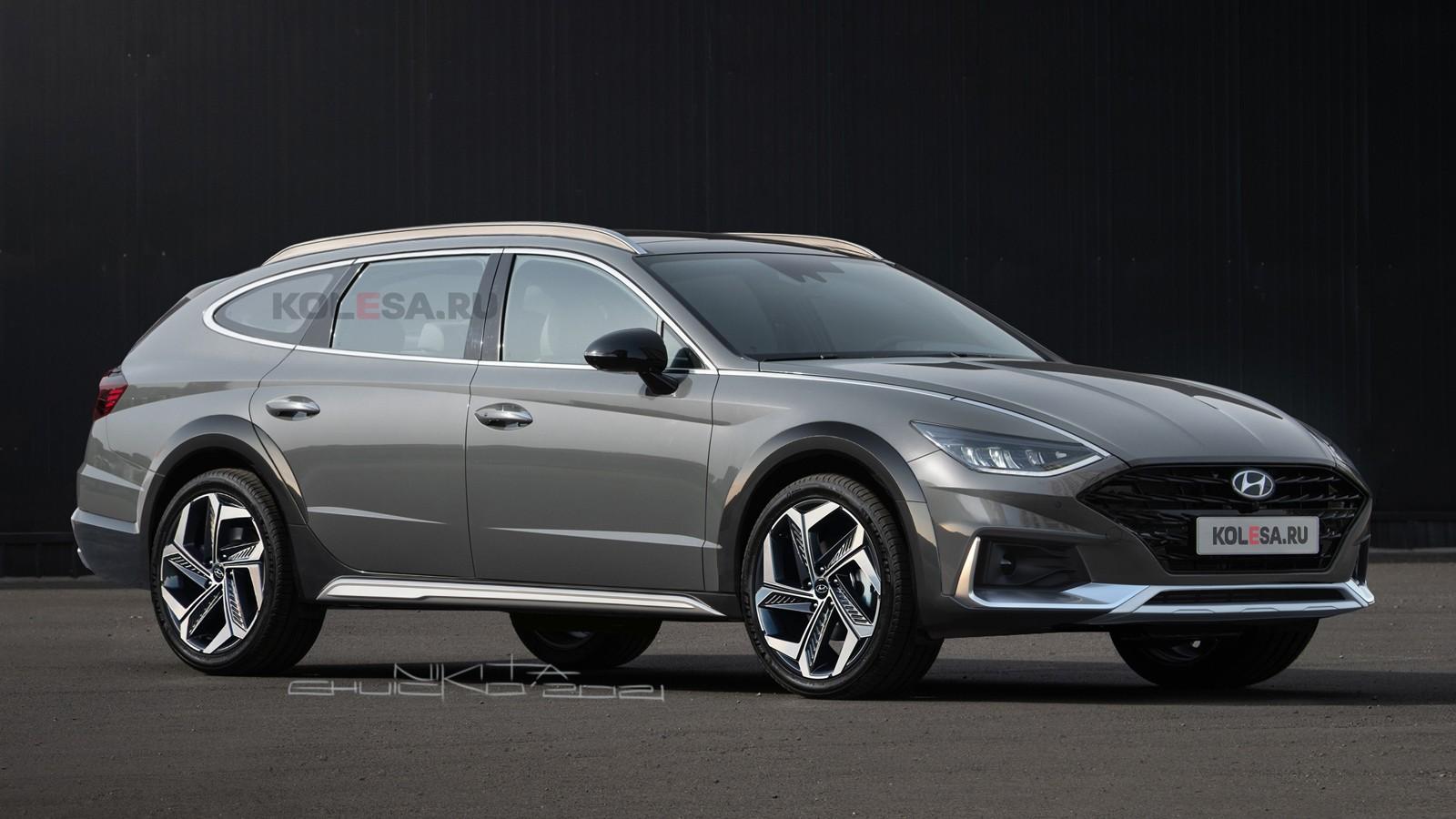 Новый кросс-универсал Hyundai Sonata: каким он может быть