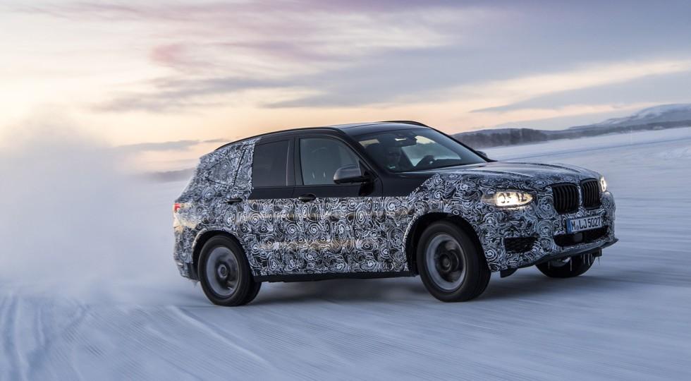 Тестовый прототип нового BMW X3