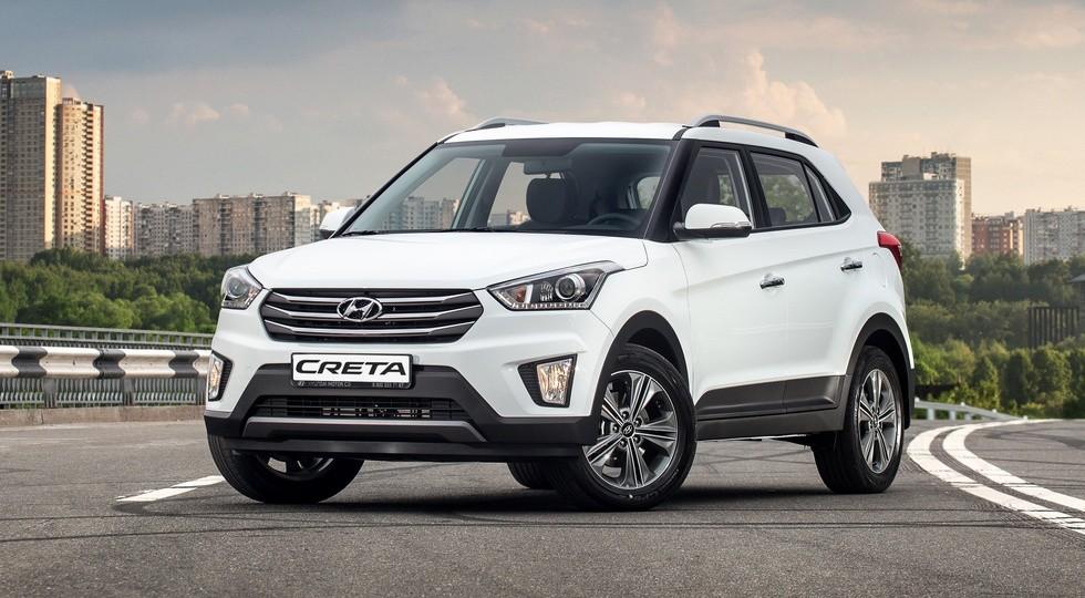 На фото: Hyundai Creta