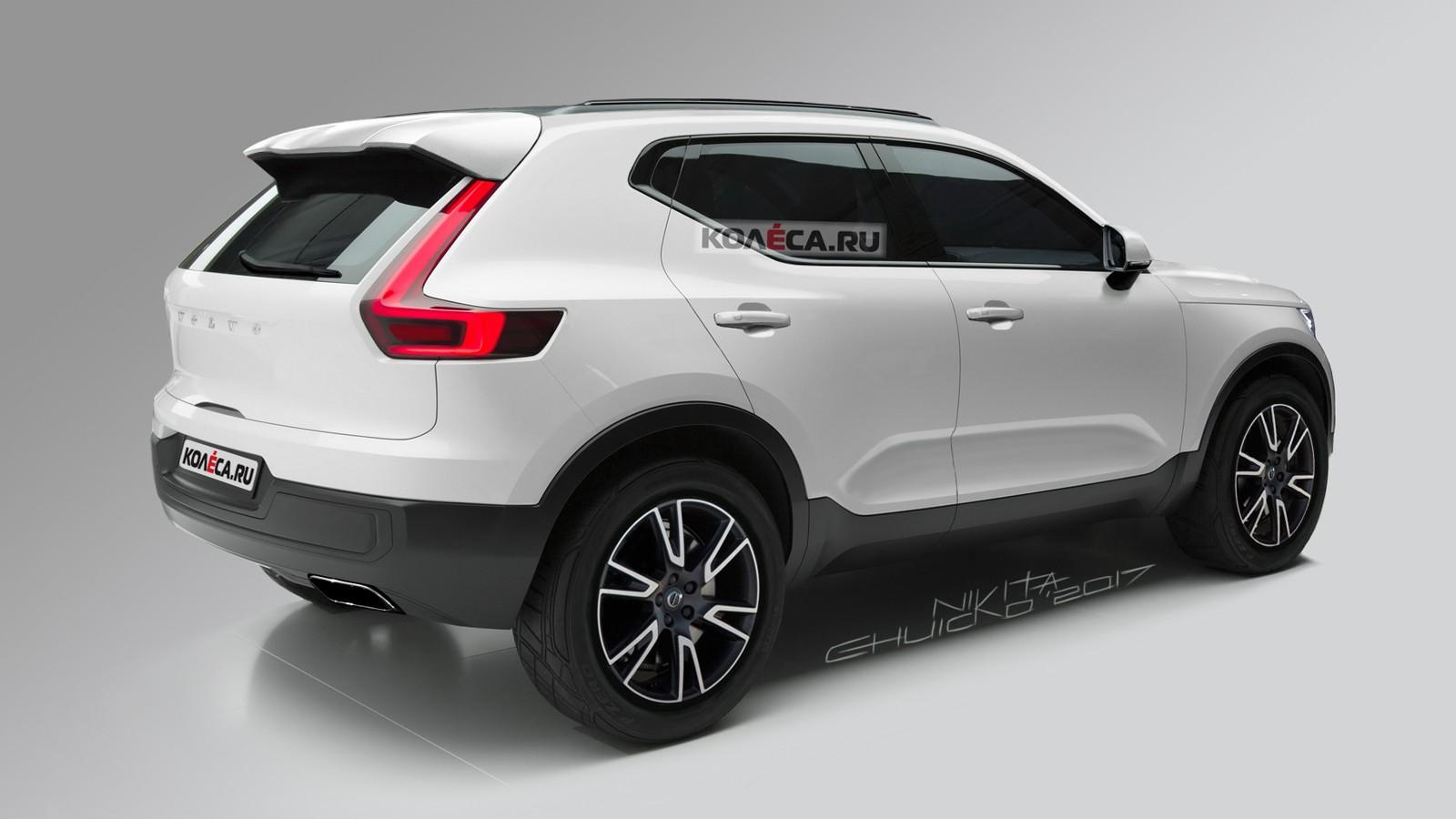 Volvo XC40 rear