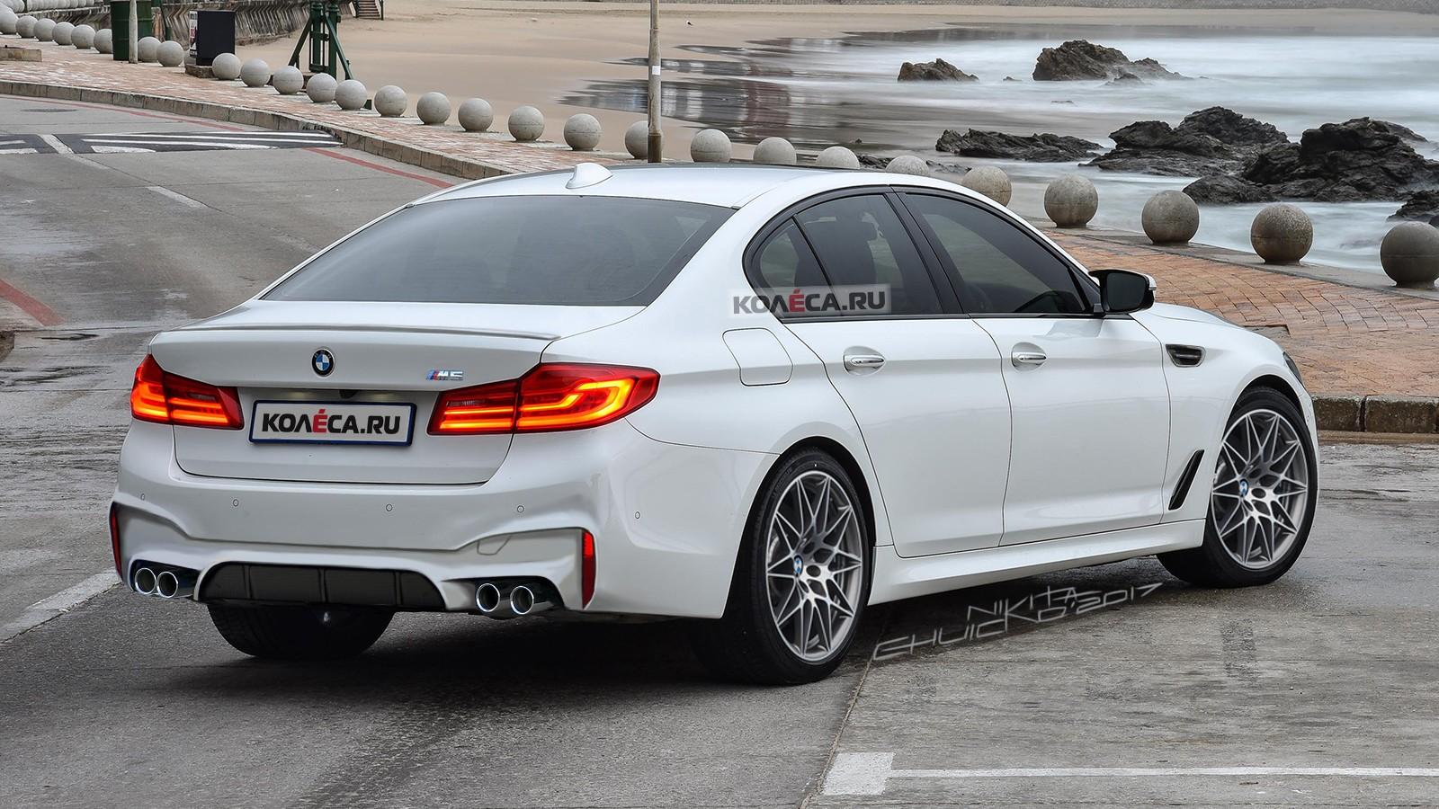 BMW M5 rear1