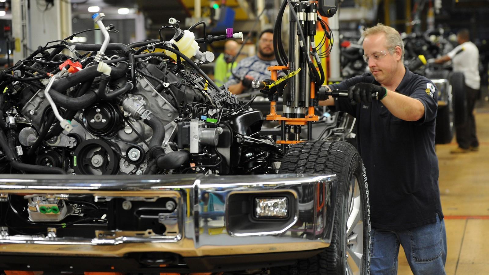 Сборка Ford F-150