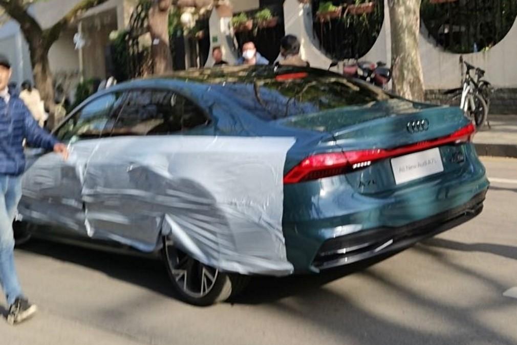 Audi A7L: лифтбек превратился в седан, удлинился и обрёл китайскую прописку
