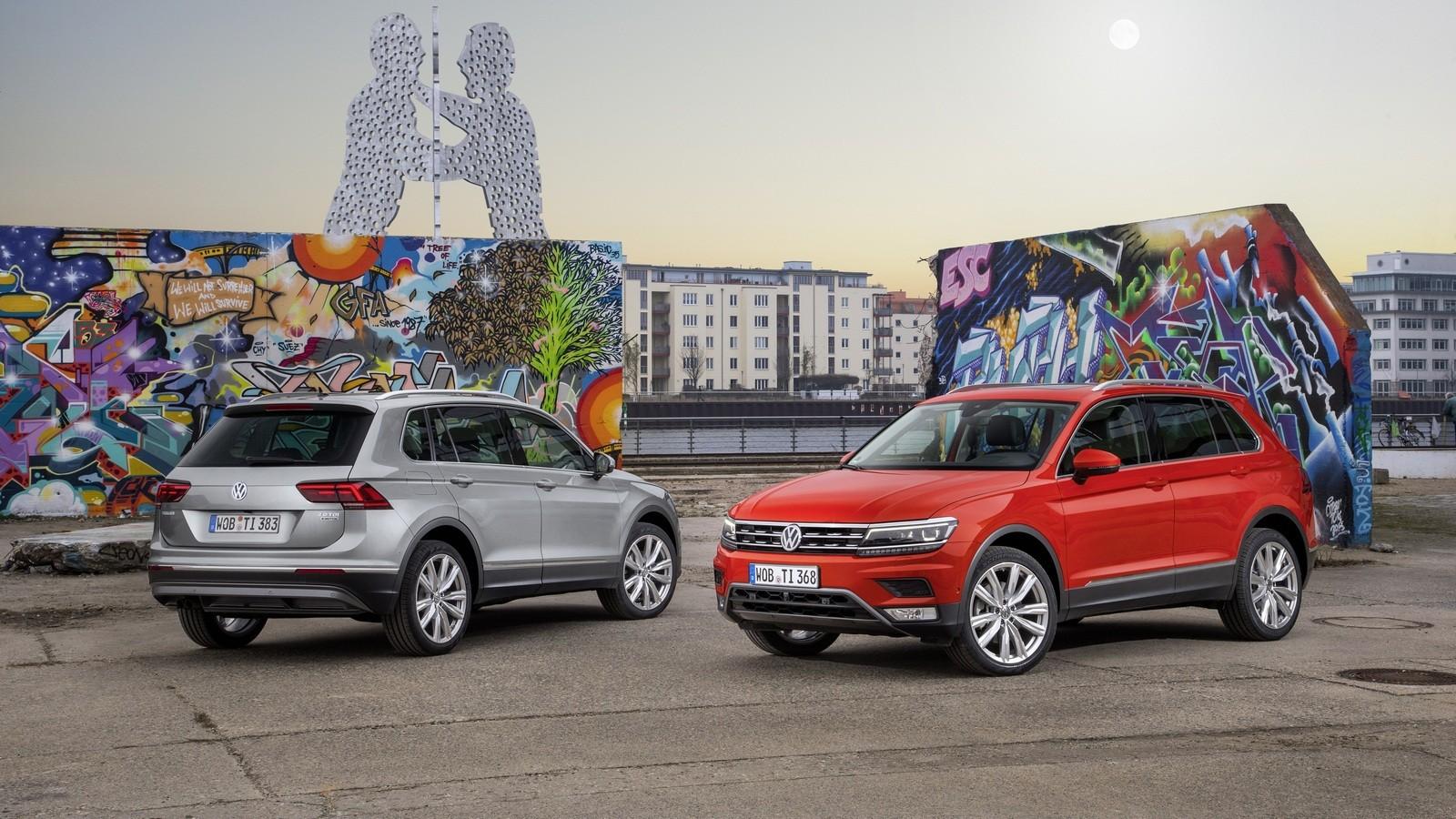 Volkswagen Tiguan Worldwide '2016–н.в.