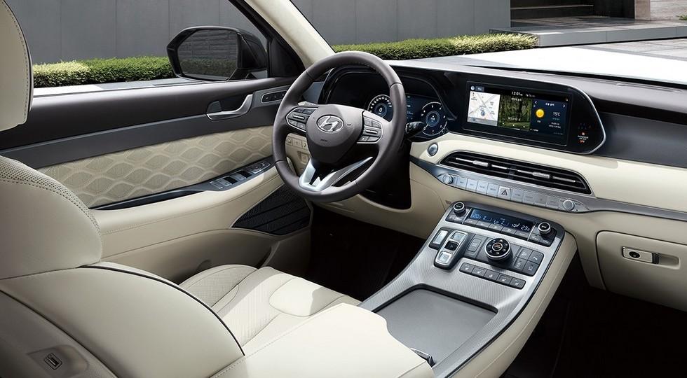 Обещанный России кроссовер Hyundai Palisade обрёл VIP-версию с переделанным салоном