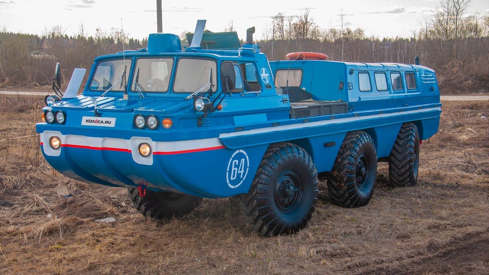 ЗИЛ-49061 Синяя Птица три четверти