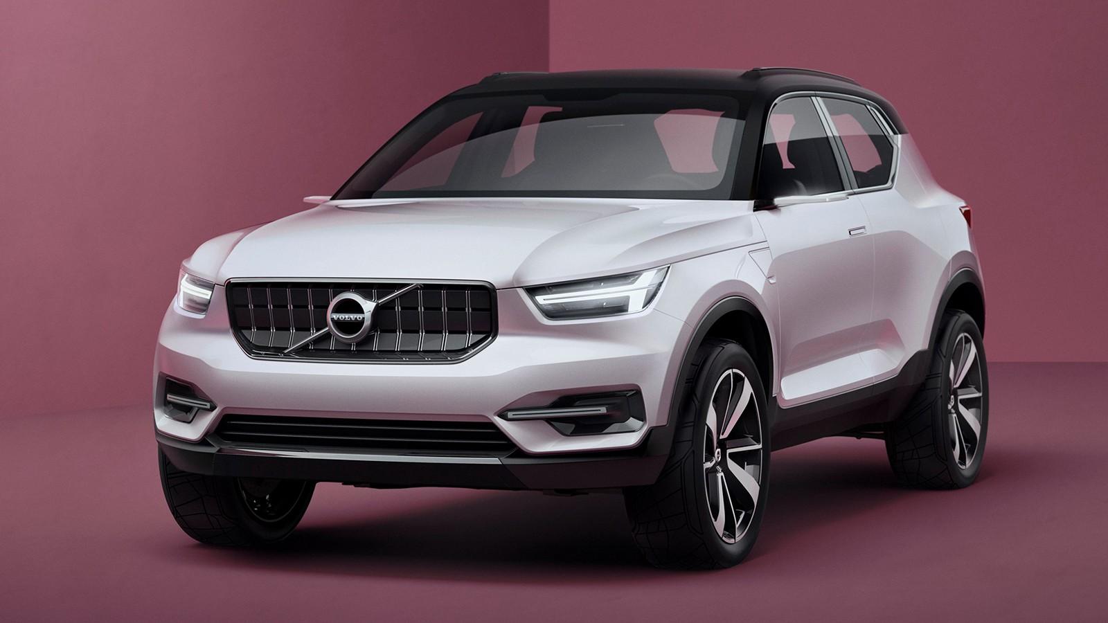 На фото: Volvo Concept 40.1