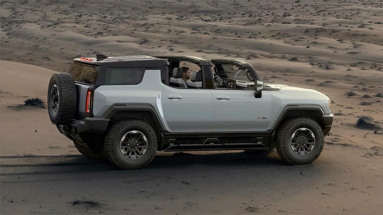 Внедорожник GMC Hummer EV: не такой мощный, как пикап, зато более манёвренный