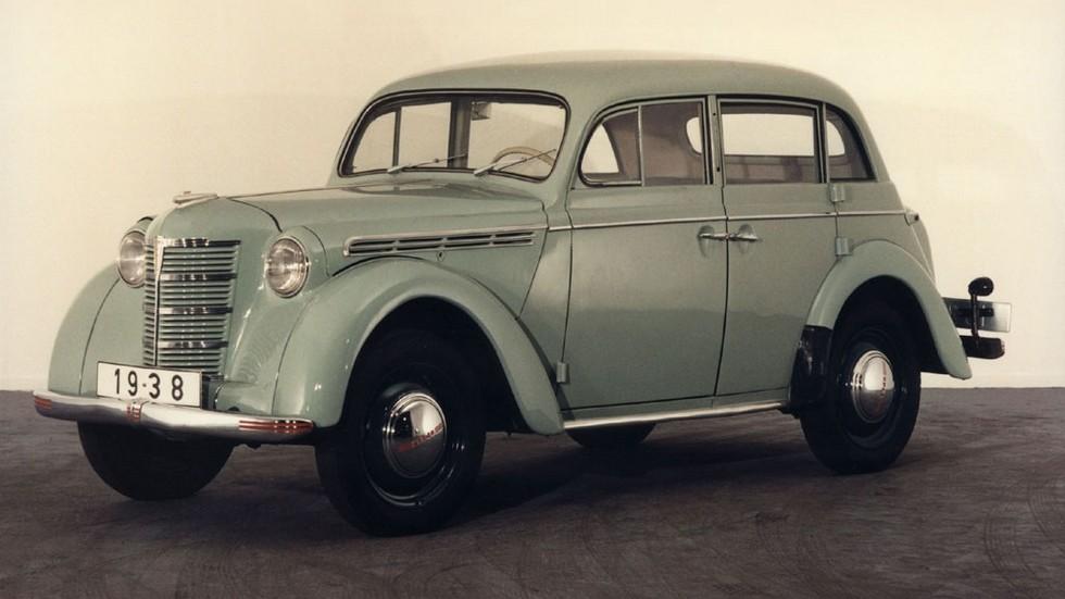 На фото: Opel Kadett 4-door (K38) '1938–1940