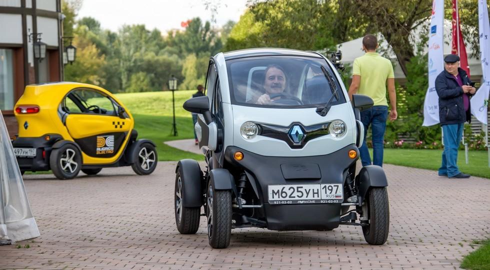 На фото: Renault Twizy