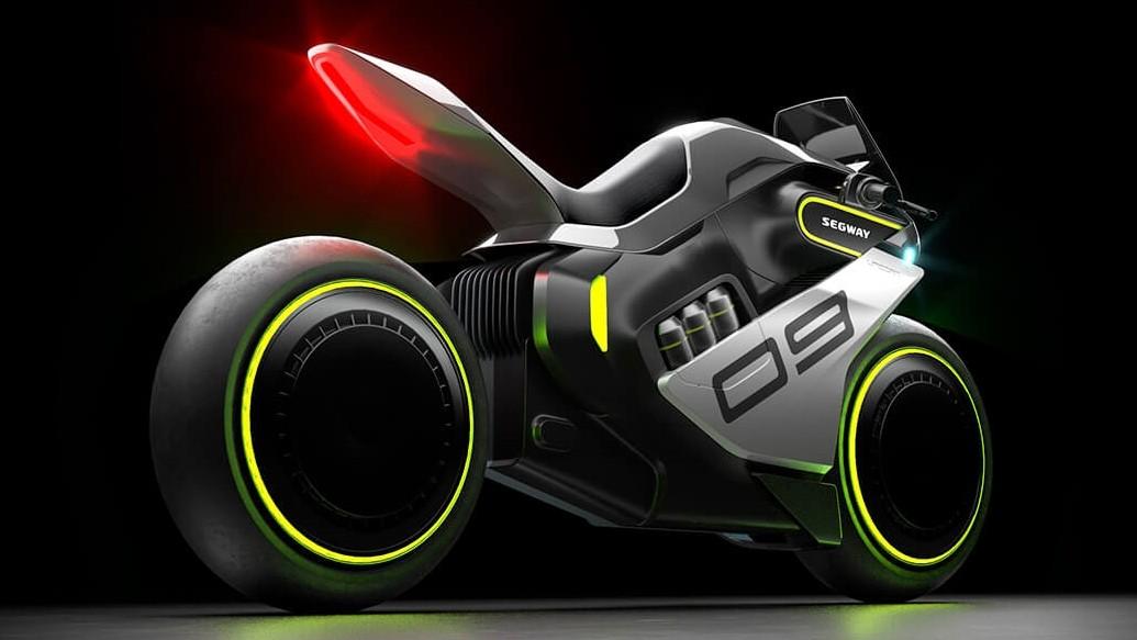 Водородный мотоцикл Segway Apex H2: «патроны» вместо заправки, производство в 2023 году