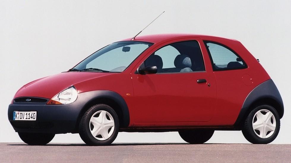 На фото: Ford Ka. Англия/Германия, 1996