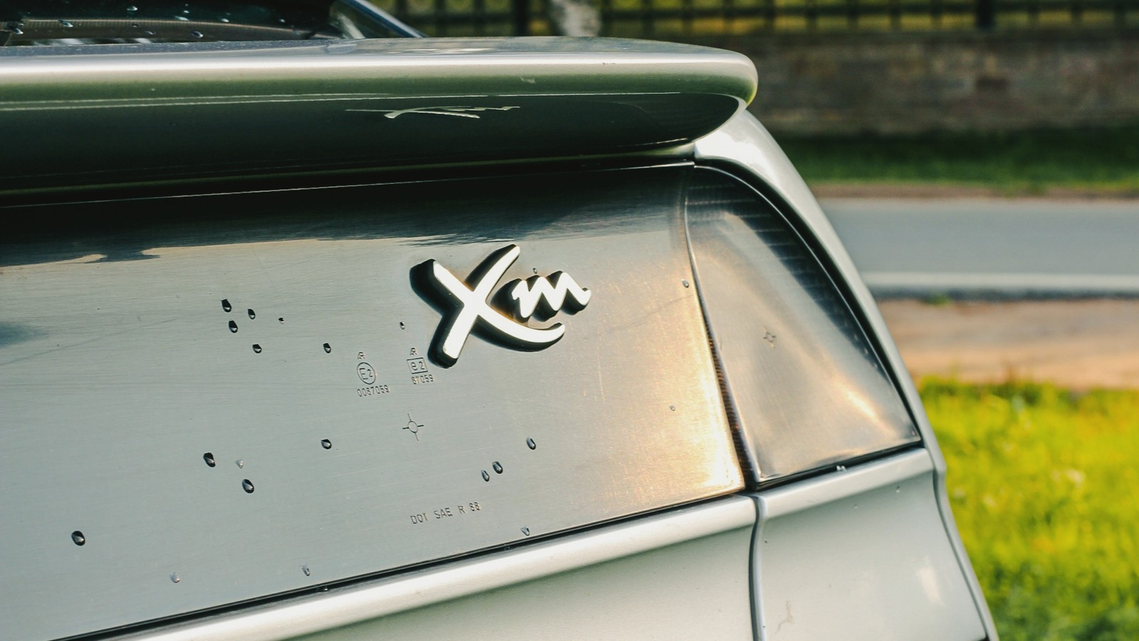 Citroen XM шильдик (1)