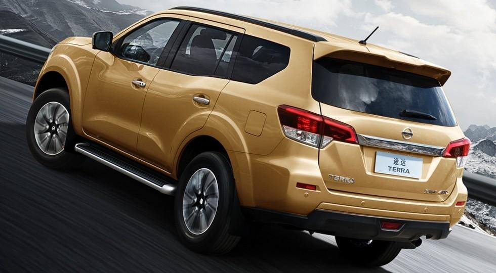 На фото: Nissan Terra, версия для Китая