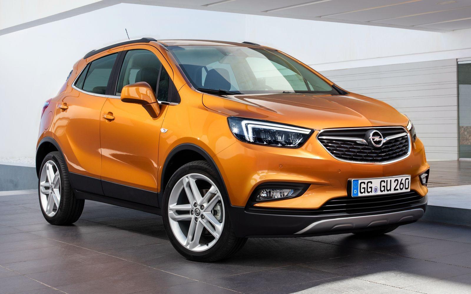 Opel Mokka после рестайлинга 2016 года стал называться Mokka Х.