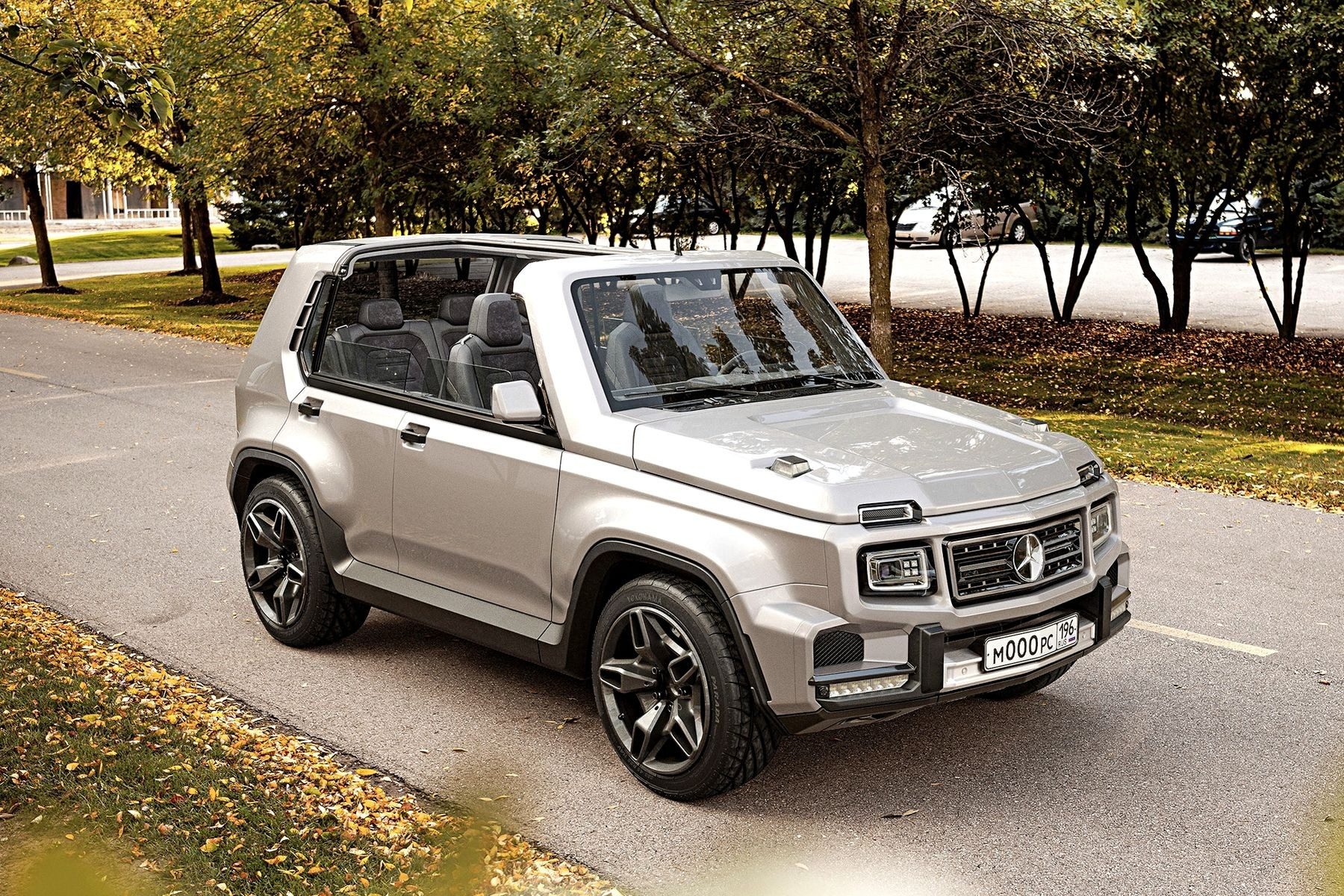 Новая альтернативная Lada Niva: с «точкой G» веселее!