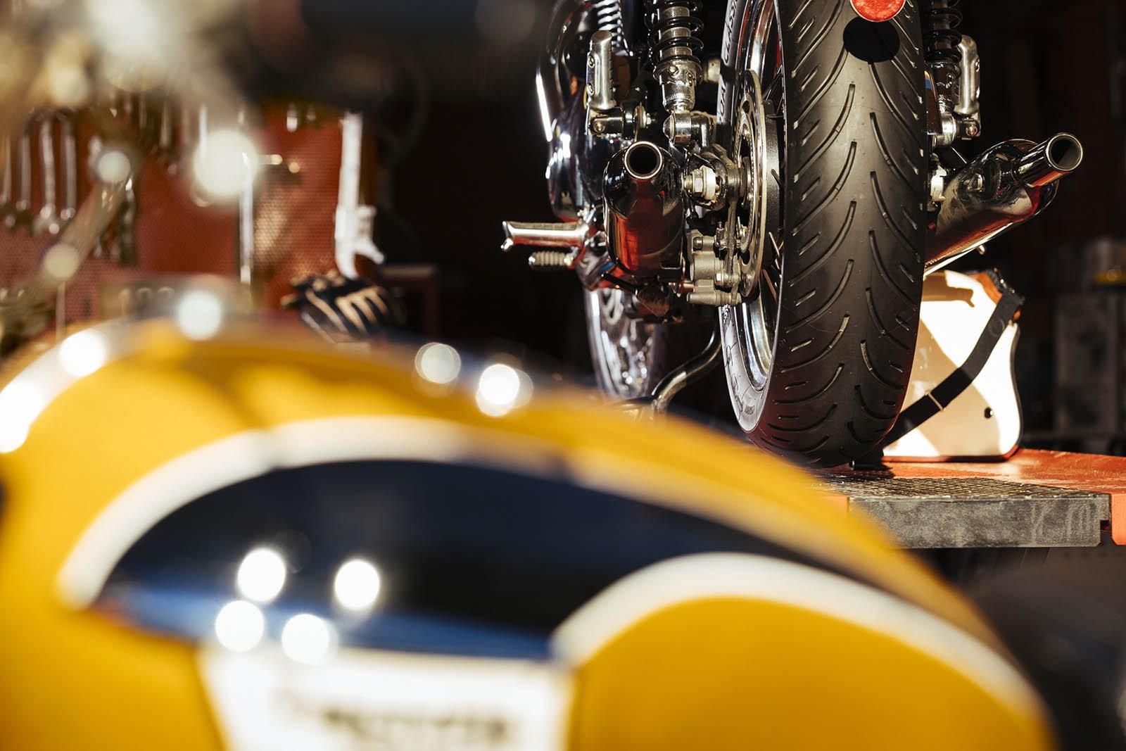 Новая линейка мотоциклетных шин Michelin Road Classic
