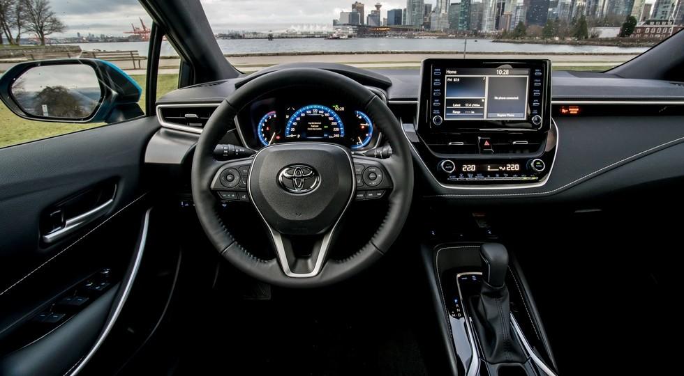 Стандартный хэтч Toyota Corolla нового поколения, версия для США