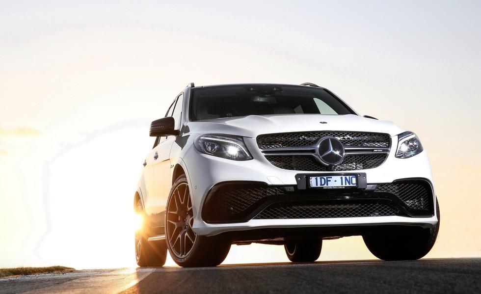 Mercedes-AMG GLE 63 2017 текущего поколения