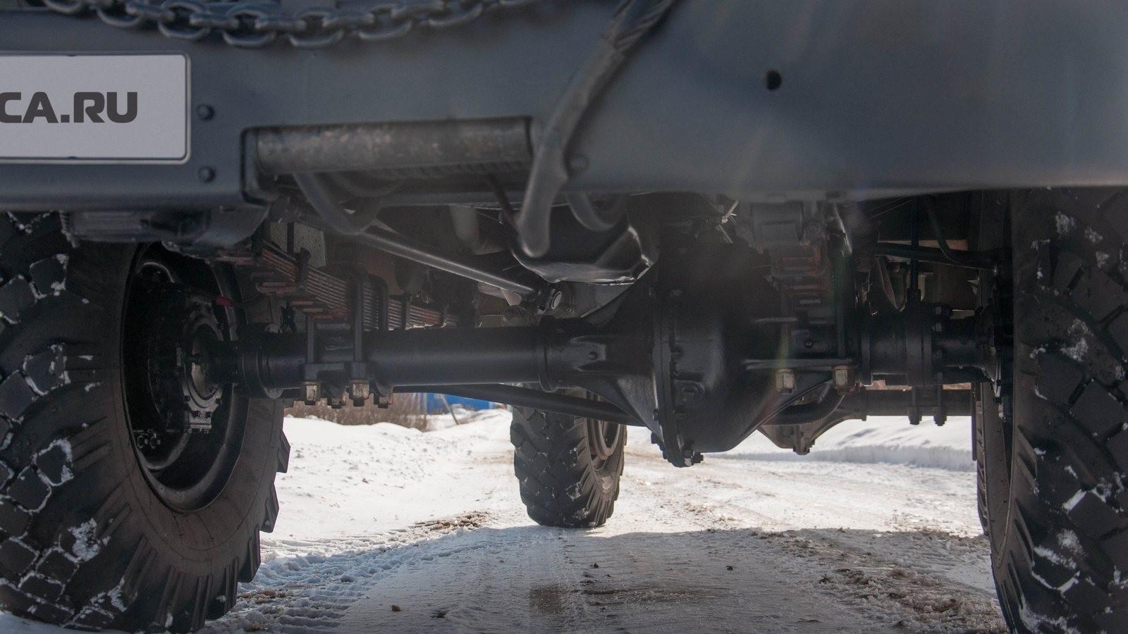 ГАЗ 63 подвеска