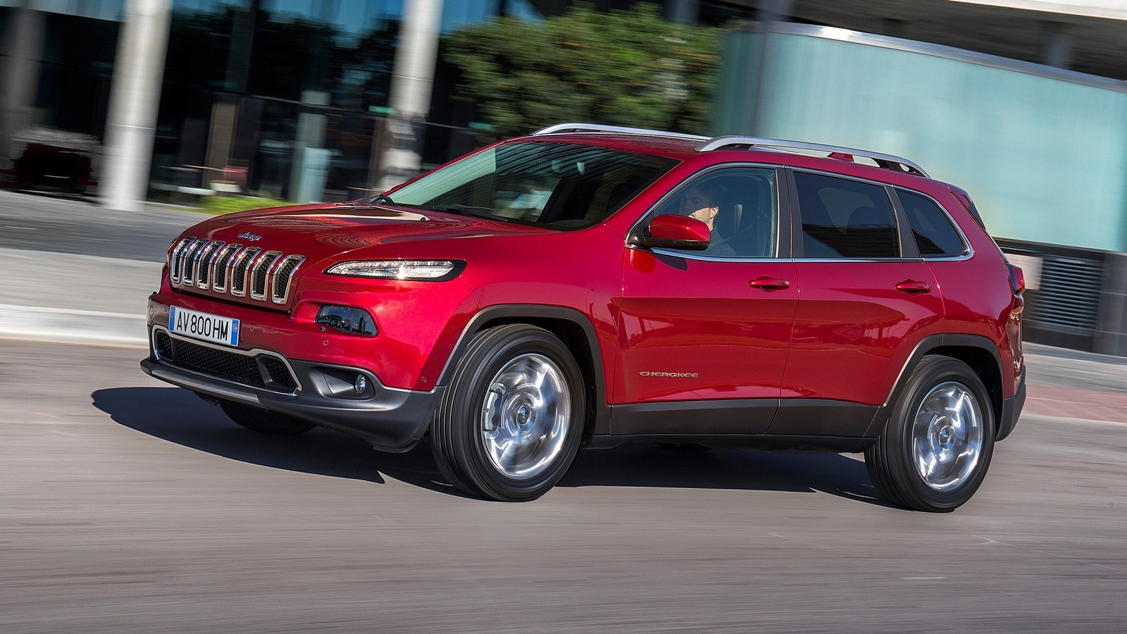 На фото: Jeep Cherokee Limited '2014–н.в.