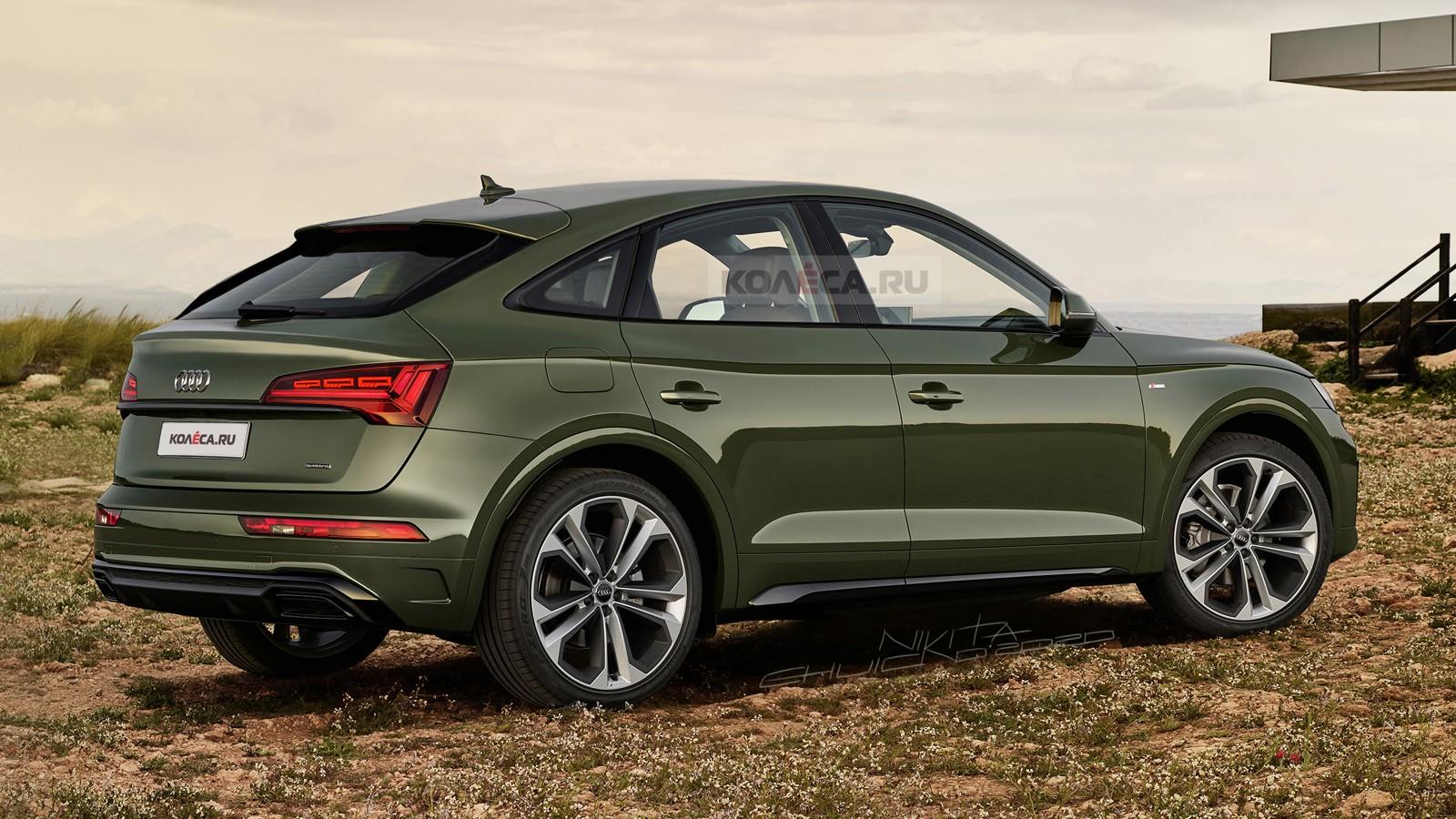 Новый Audi Q5 Sportback 2021 - КОЛЕСА.ру - автомобильный ...