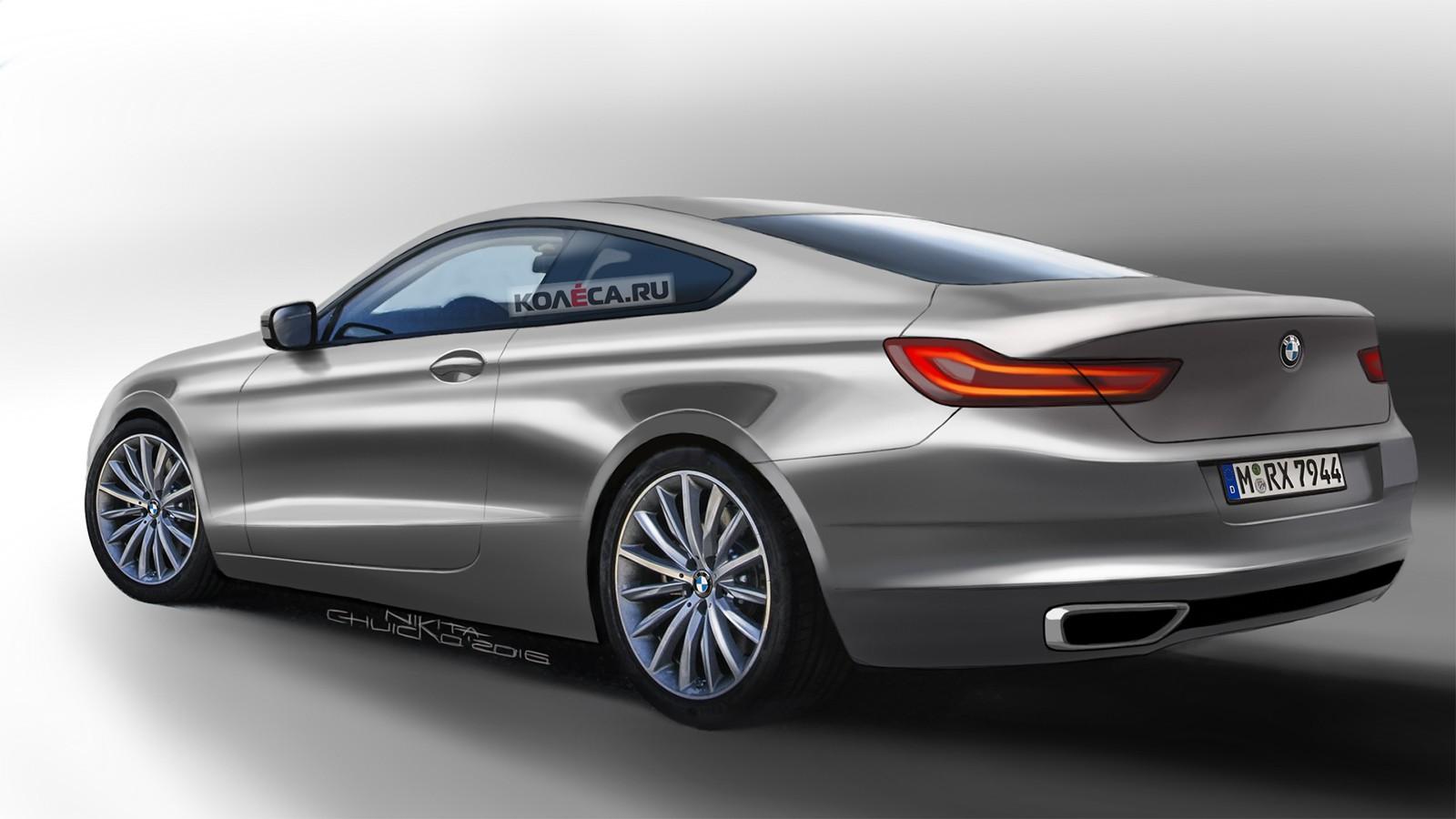 BMW 6er rear