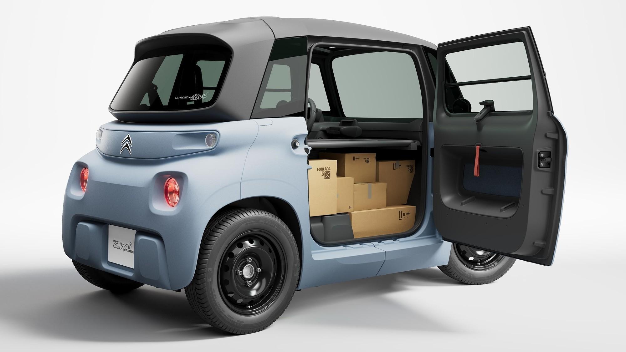 Citroen My Ami Cargo: самый маленький и дешёвый «грузовичок» в гамме французской марки