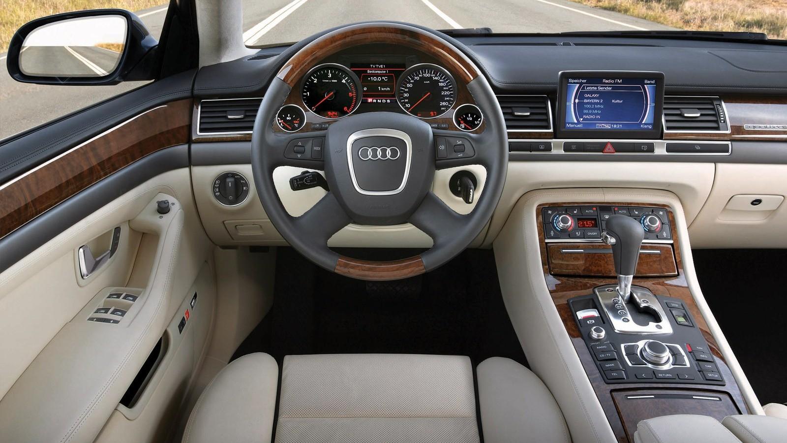 Торпедо Audi A8 4.2 quattro (D3) '2005–08