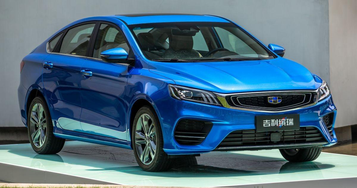 Компактный седан Geely Bin Rui, мировая премьера которого состоялась несколько дней назад на автосалоне в Ченду