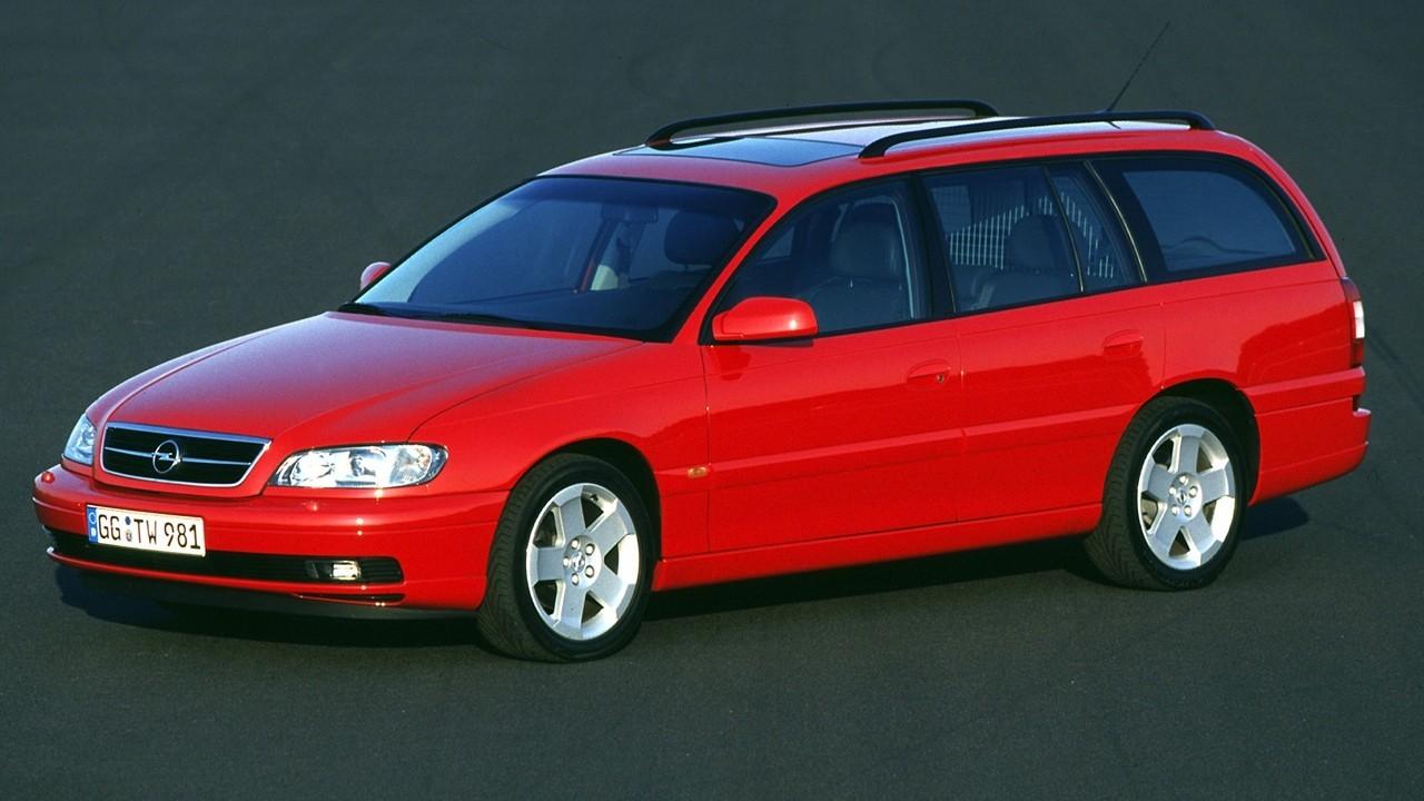 На фото: Opel Omega Caravan (B) '1999–2003