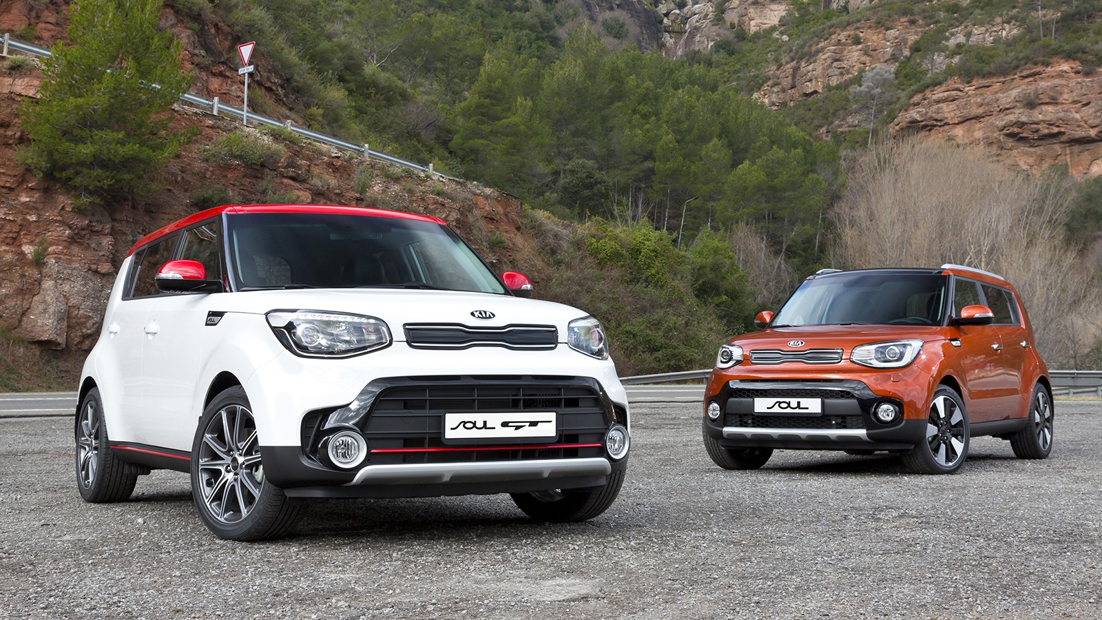 KIA Soul GT and KIA Soul facelift