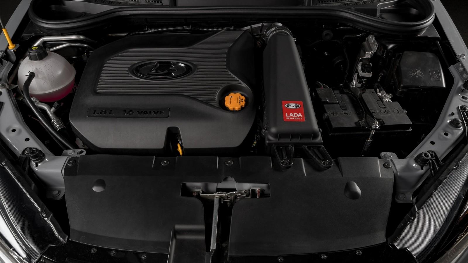 Lada_Vesta_Sport двигатель