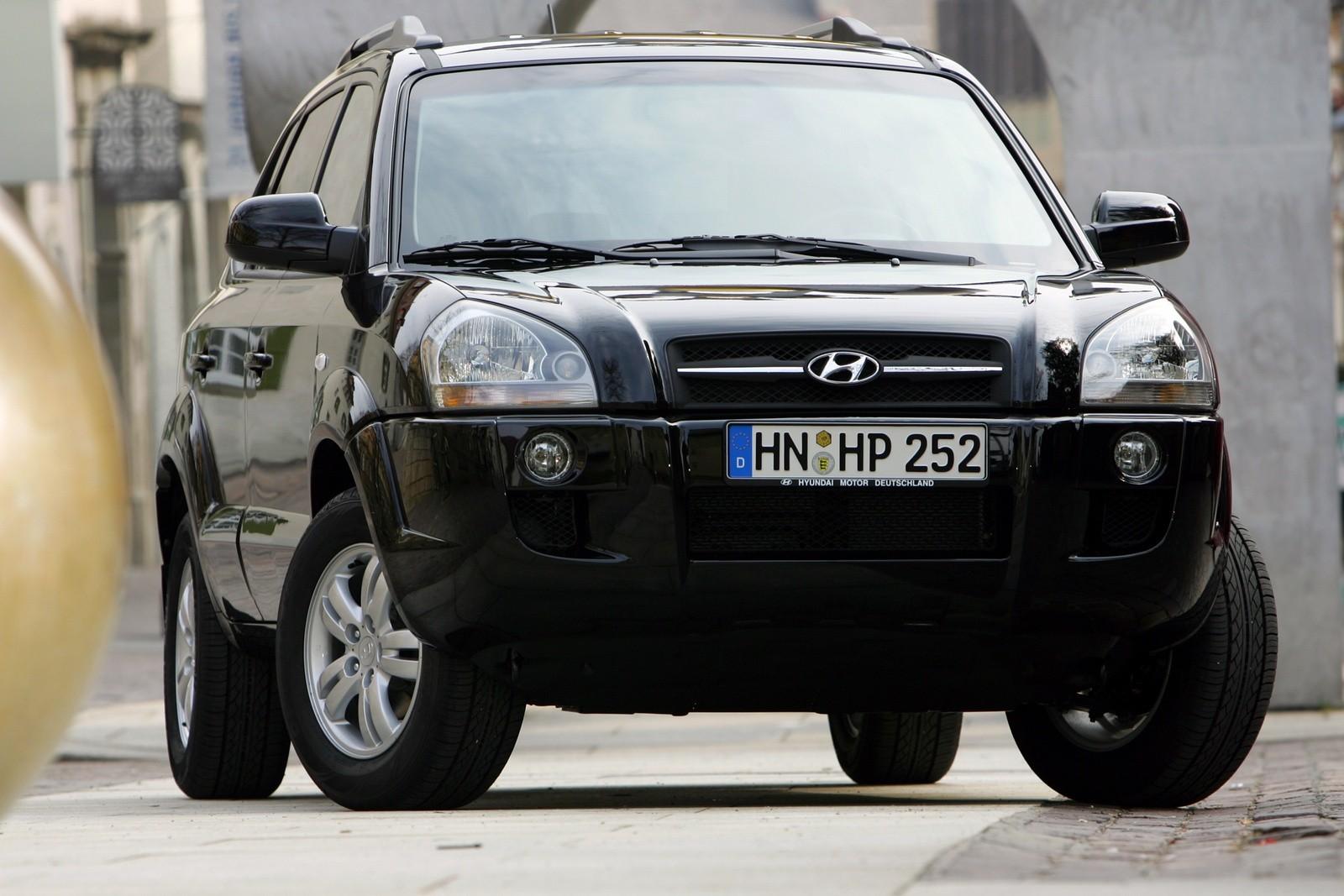 Hyundai Tucson Worldwide '2004–09 спереди
