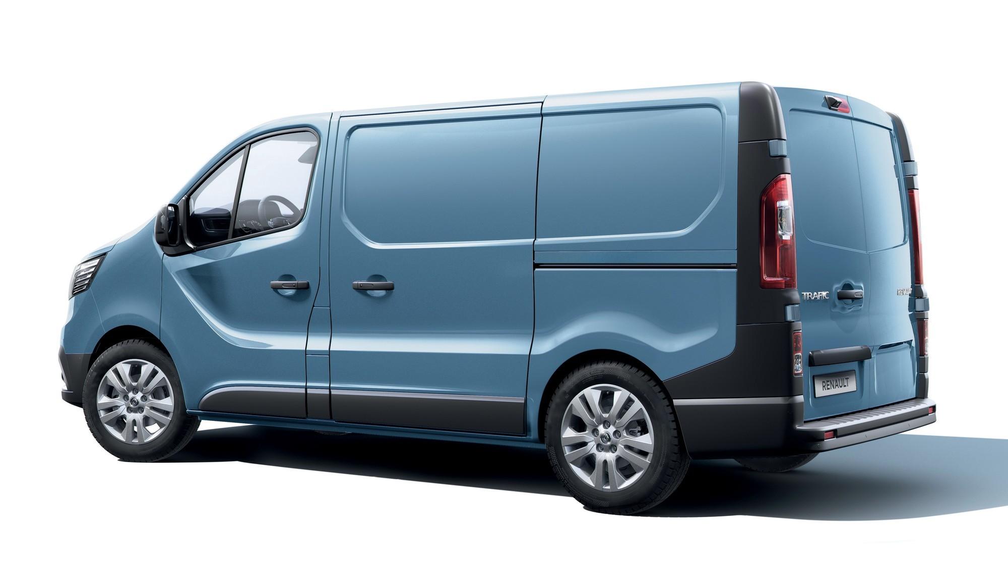 Обновлённый Renault Trafic: теперь и грузовой вариант с 10 новыми ассистентами водителя