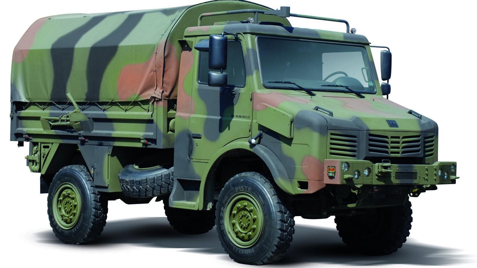 Капотный 2,5-тонный грузовик BMC 185-09B — турецкий Unimog