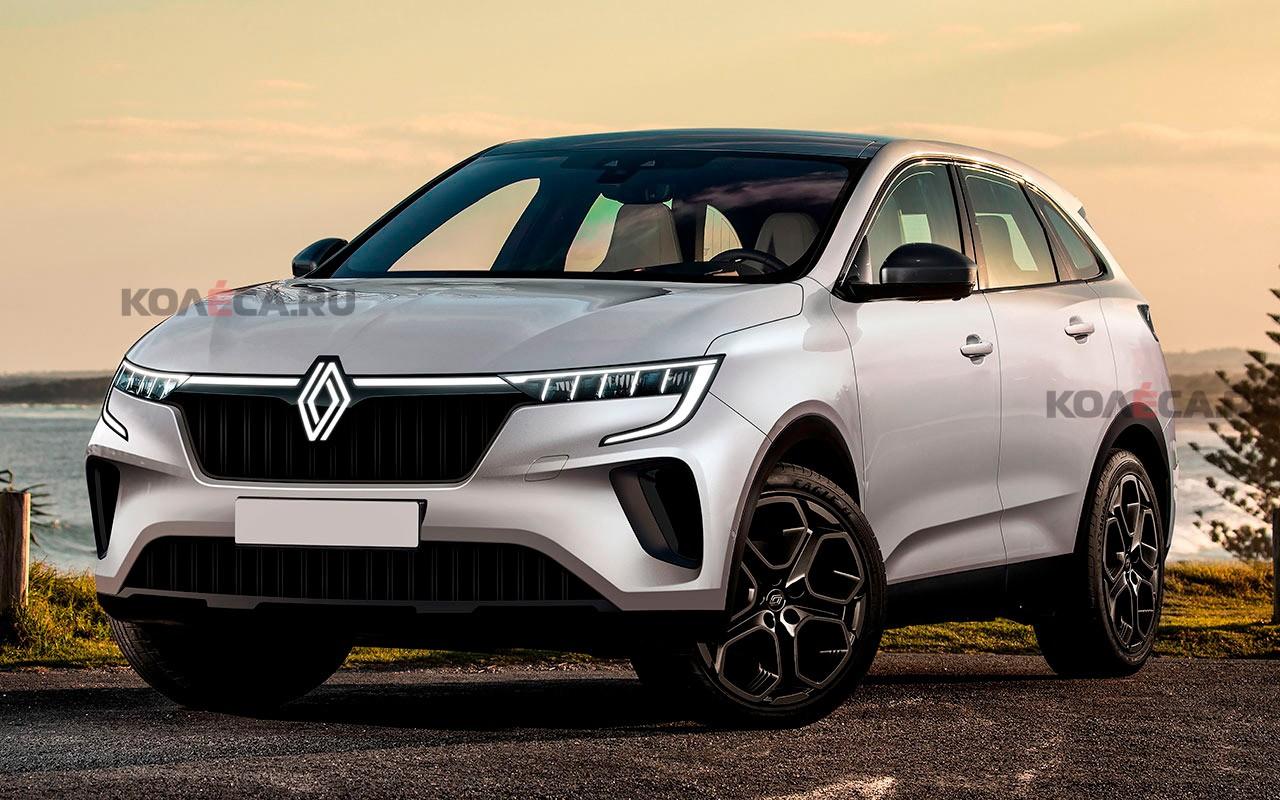 У нового Renault Kadjar может появиться купеобразная версия: первое изображение