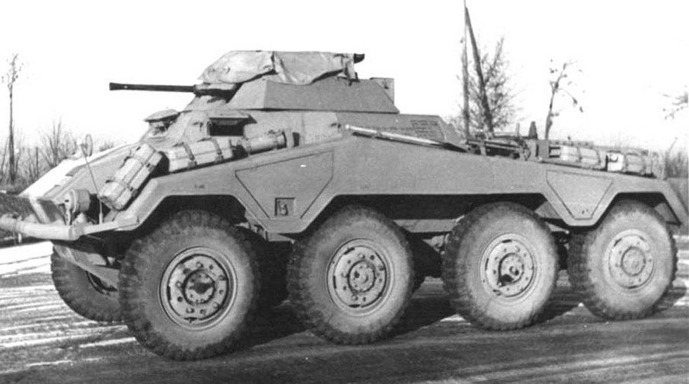 5 Немецкий бронеавтомобиль Bussing-NAG ARK