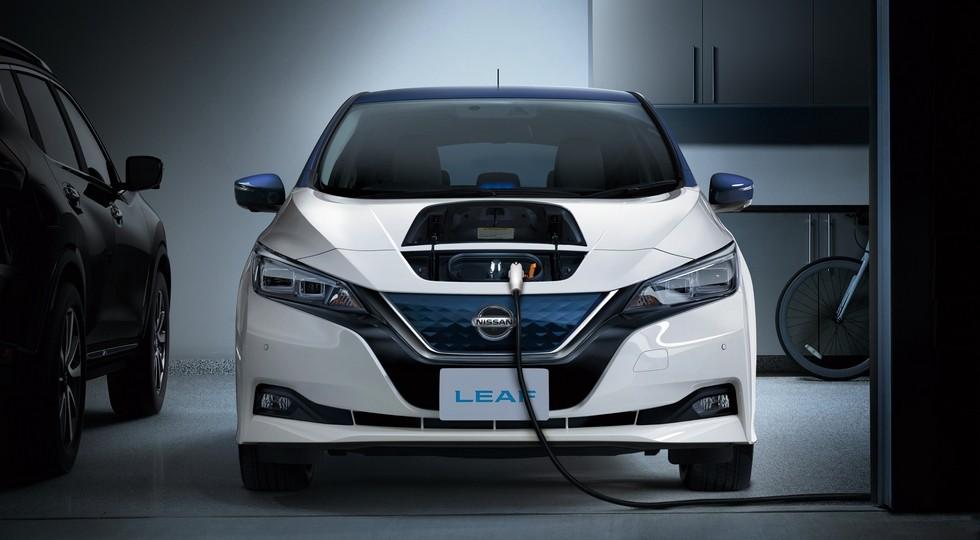 На фото: Nissan Leaf нового поколения