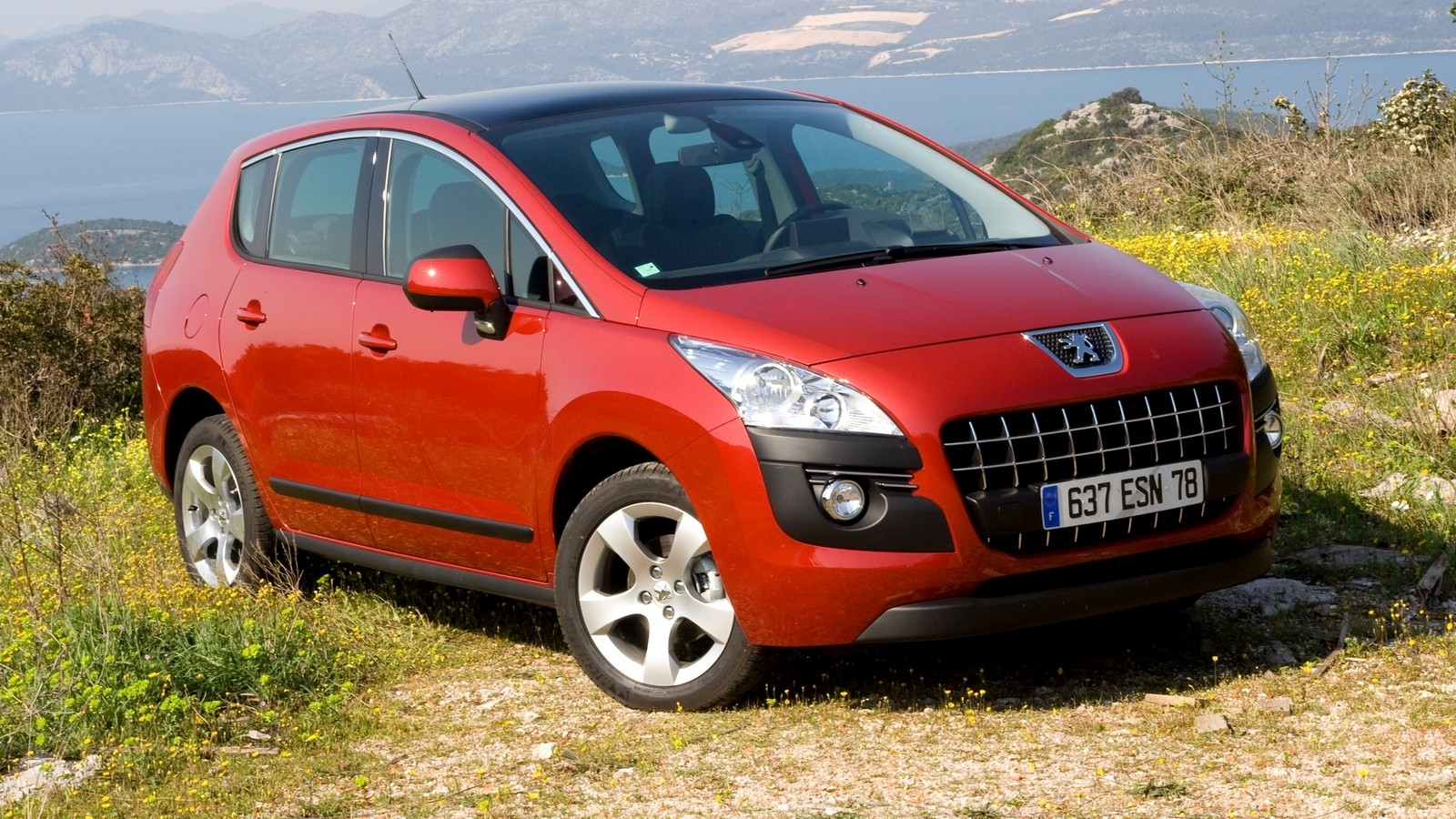 На фото: Peugeot 3008 '2009–13
