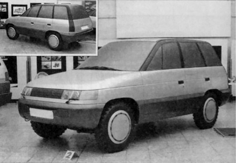 Вариант ВАЗ-2123 от В. Степанова (1988 год)