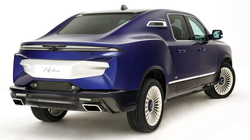 Aznom показал свой люксовый внедорожный седан: Palladium немало позаимствовал у Ram 1500